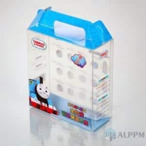 Top Box di plastica per Thomas & Friends (stampa logo su plastica)