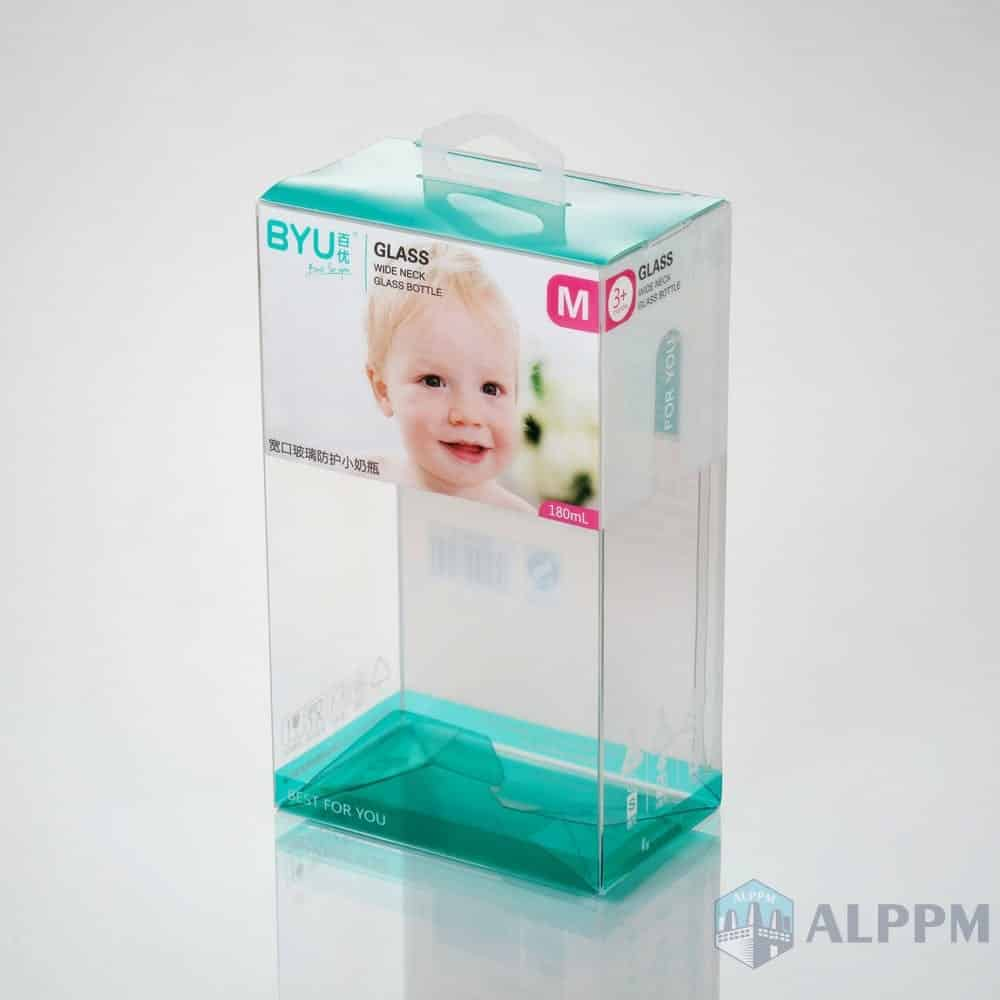 OEM Retail Clear Folding Retail Box PP/PVC/PET Plastic Packaging Box for Baby Products