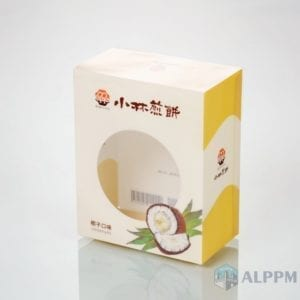Ko PVC / Pet apoti Box fun Food (ku lati be wa factory)