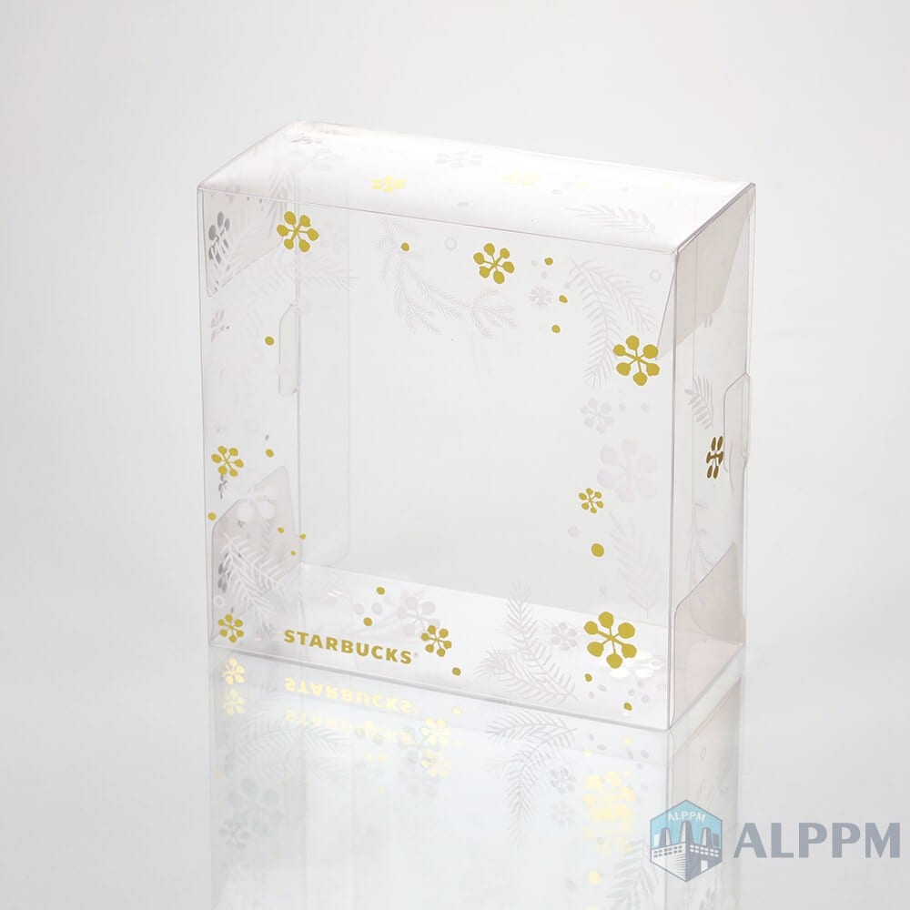 Starbucks Coffee – Custom clear plastic transparent boxes wholesale