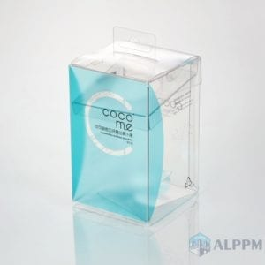 Altera PVC packaging Box |  quadratum donum sarcina buxum manufacturers
