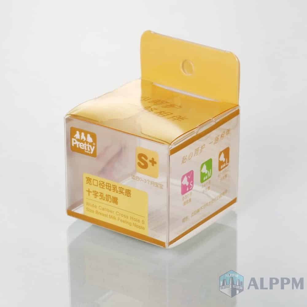 High Quality Multi-purpose Prettybaby PP/PVC/PET Clear Junction Plastic Box for Baby Products