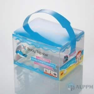Vind Transparante PVC Box for Cosmetic (china kunststof geschenkdoos leveranciers)