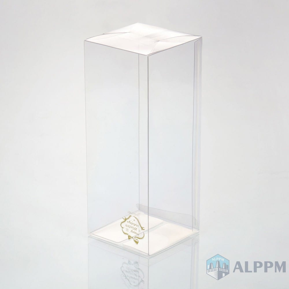 custom eco-friendly clear plastic box for packing box
