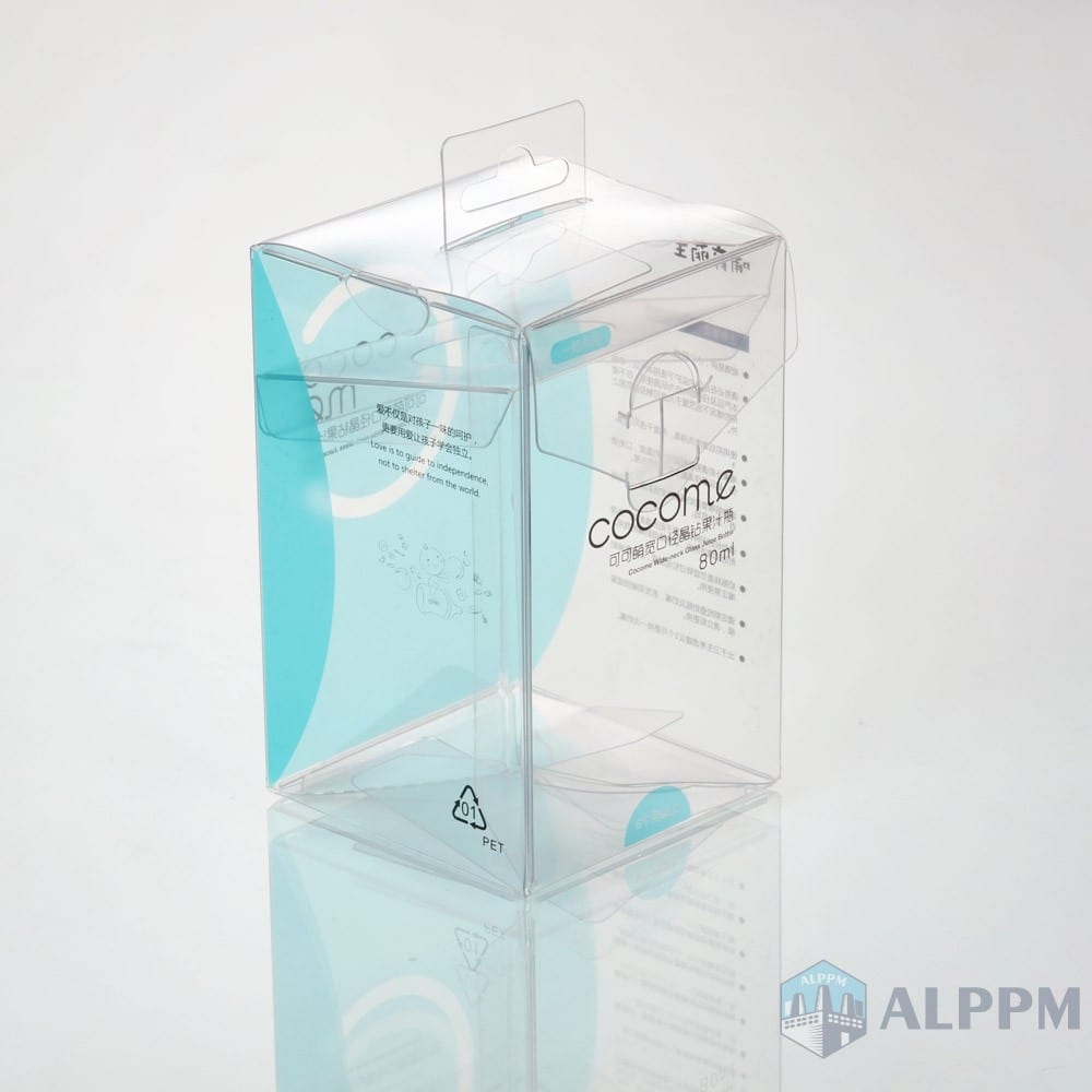 OEM Clear Square Custom PP/PVC/PET Clear Packaging Box for Baby Products