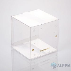 Custom plastic boxes for Starbucks Coffee (Eco Friendly)