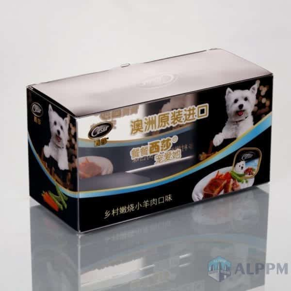 PVC plastic box for biscuits food(Lower factory price)
