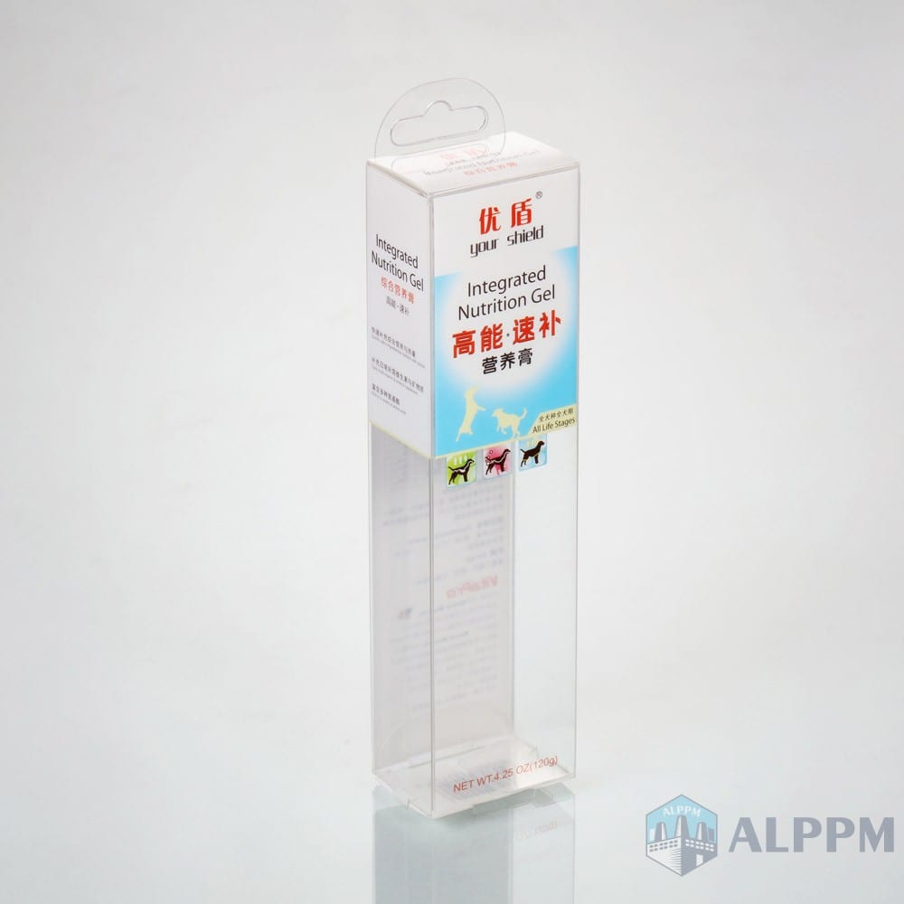 Custom PP/PET/PVC Clear Transparent Packaging Box for Food Products