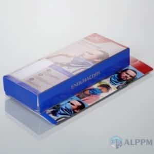 Clear plastic boxes for MISSION (accept OEM)