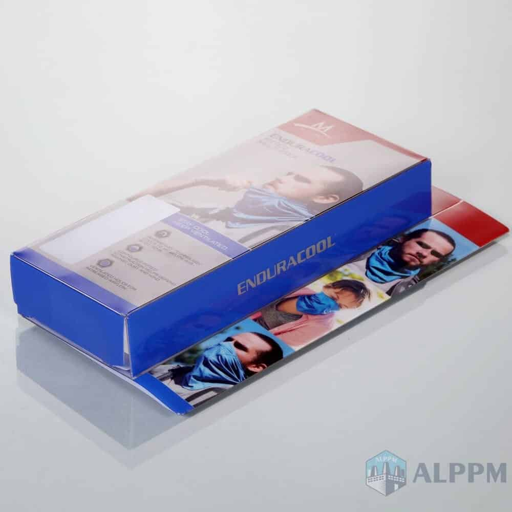 MISSION Transparent custom rectangular clear plastic boxes wholesale