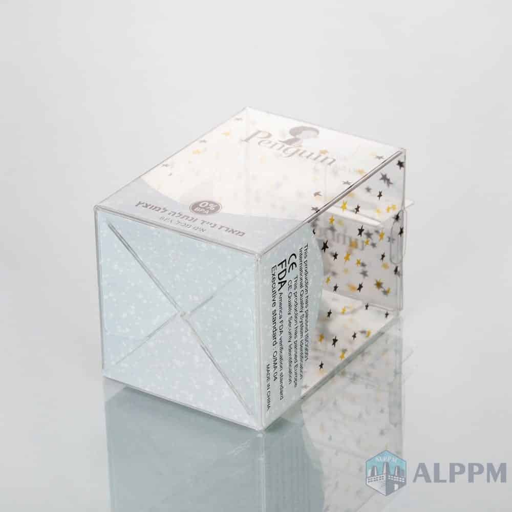 Best Customized Transparent PET Plastic PET Packing Box for Living Products