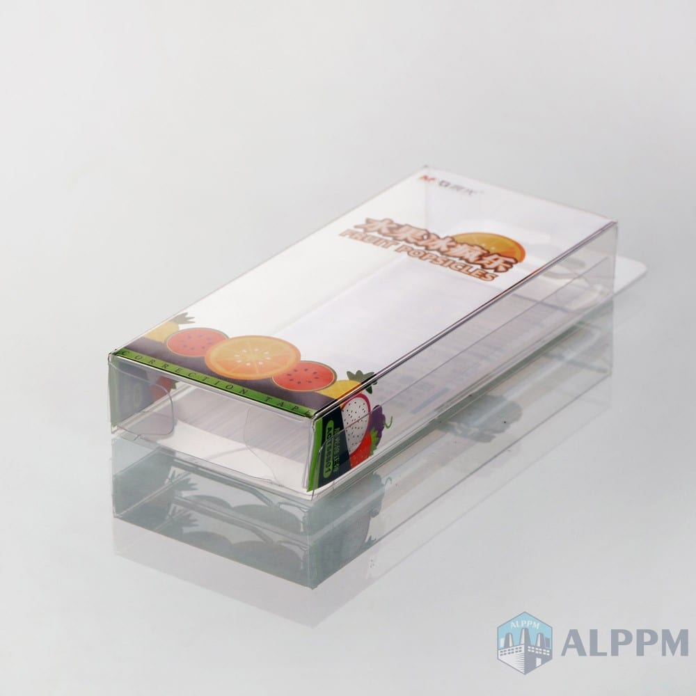 Clear Custom M&G High-quality Plastic box for stationery products packing box