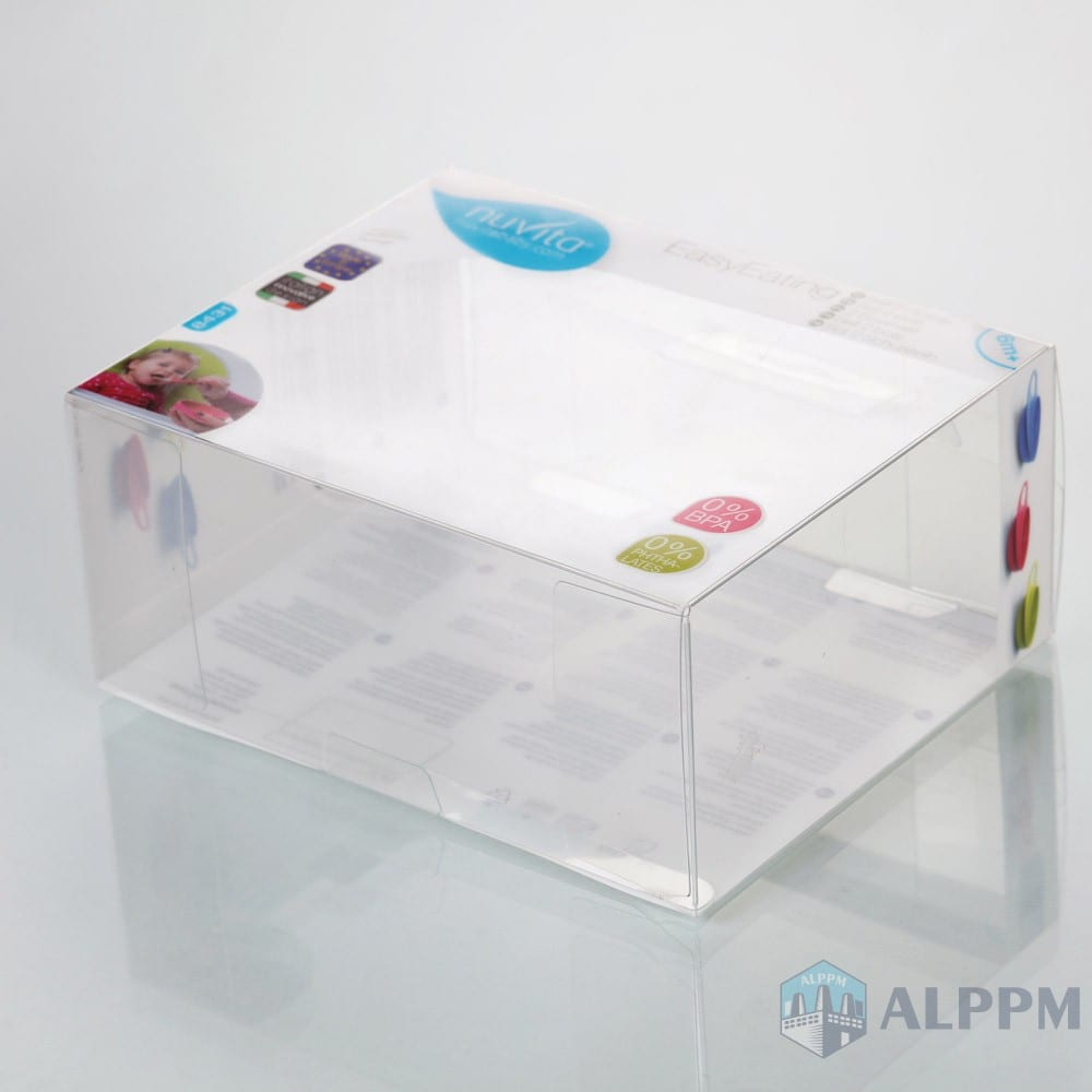 Wholesale Logo Printing High-quality PP/PVC/ PET Plastic Packaging Box for Baby Products