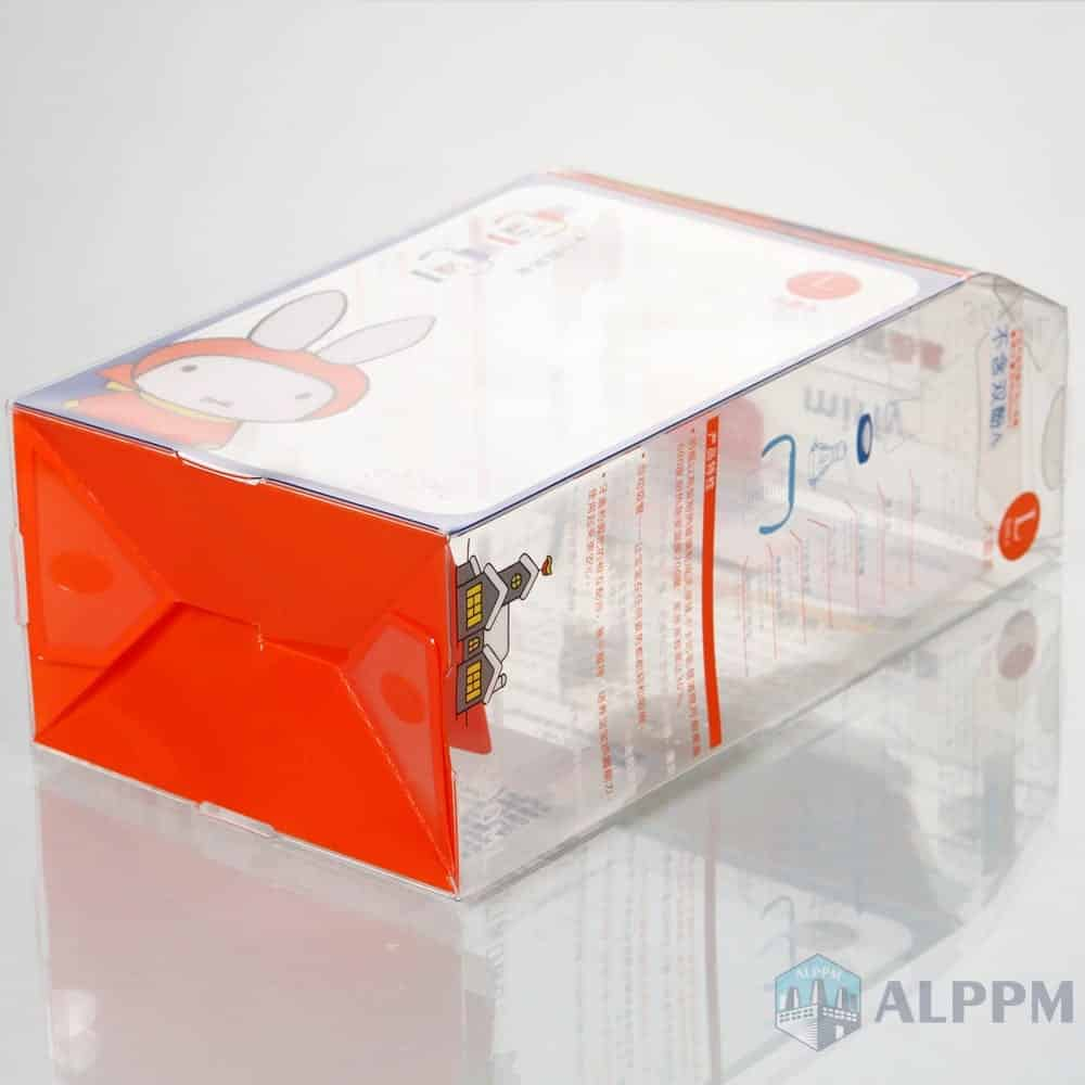 Miffy Transparent Retail PP/PVC/PET Clear Packaging Box for Baby Product Box