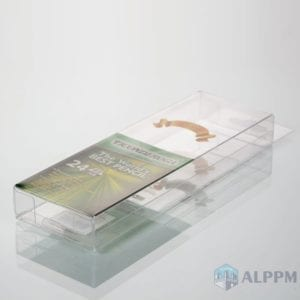 High-Quality clear PVC box for TICONDEROGA (Plastic clear boxes factory)