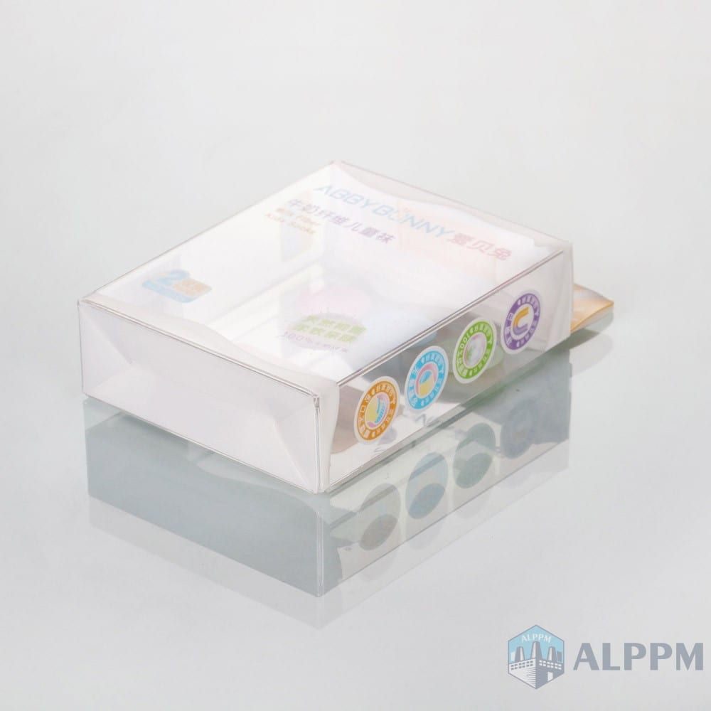 Customized Wholesale Folding Small PP/PVC/PET ABBY BUNNY Packaging Box for Clothing Packaging