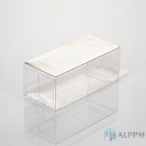 Living Products PET Clear Packaging qutuları