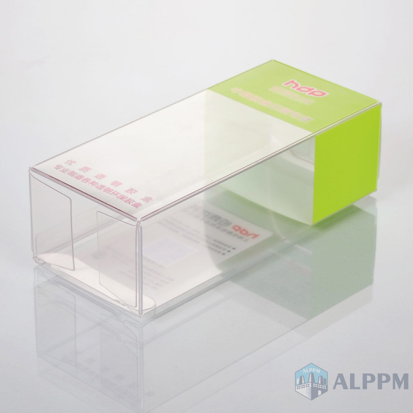 custom logo small retail pvc/pet/pp packing for clear plastic box