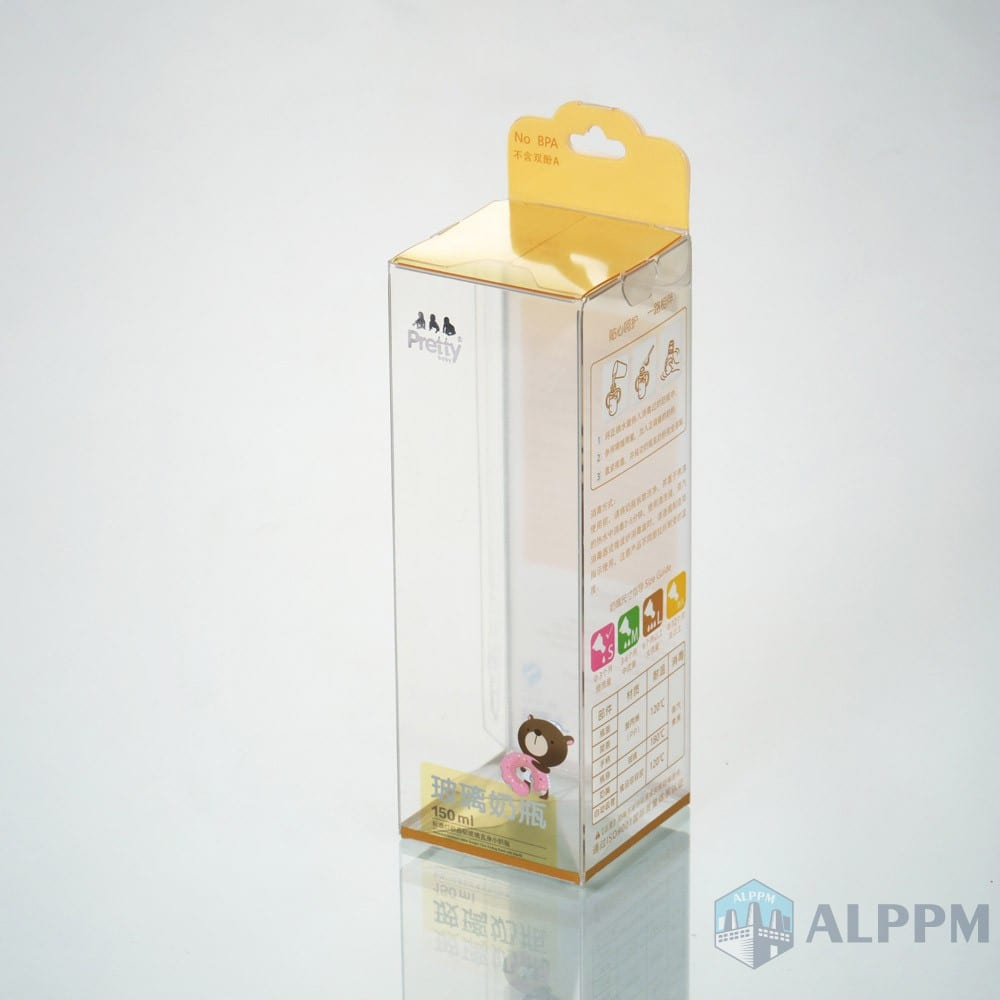 Top Quality OEM Clear Prettybady PP/PVC/PET Junction Packing Box for Baby Products