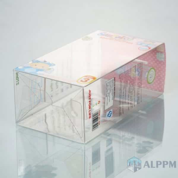 PET transparent box for WIDE-NECK | plastic clear boxes made in china