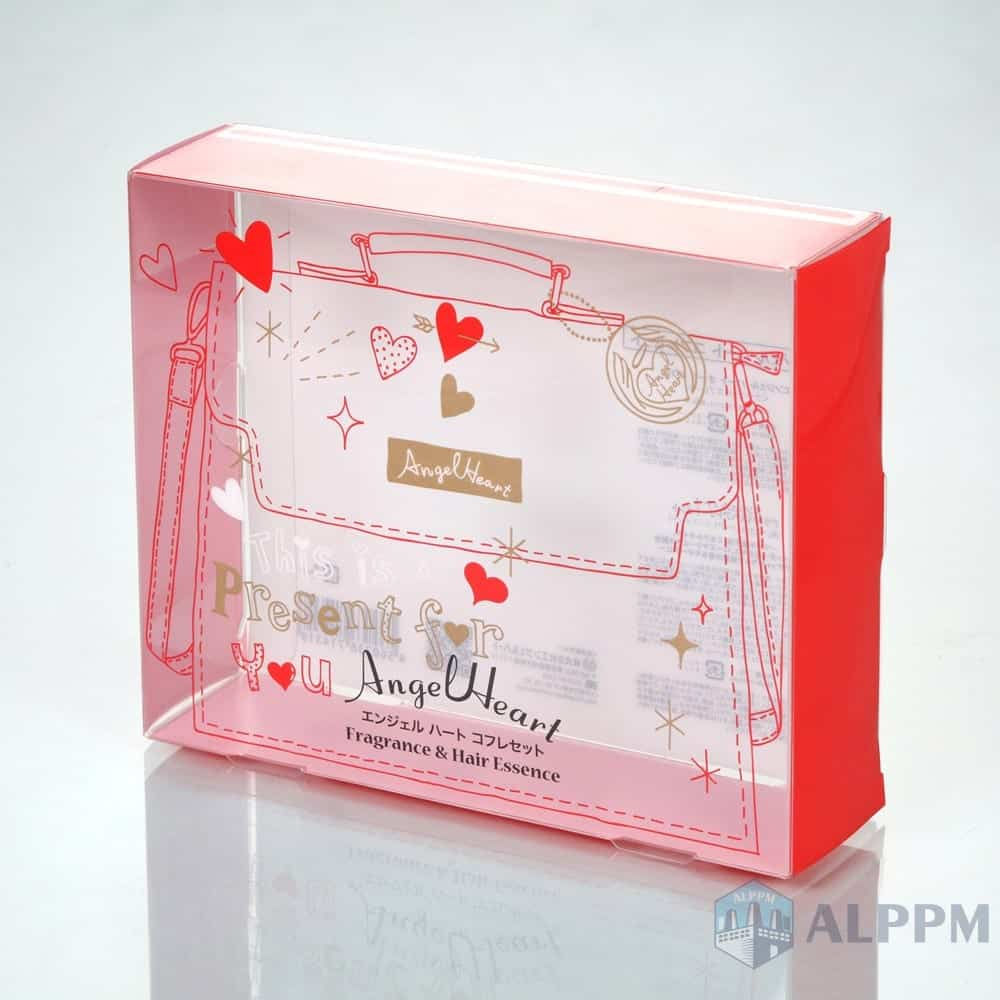 OEM Top Quality Plastic retail PP/PVC/PET Clear Transparent Box for Cosmetic