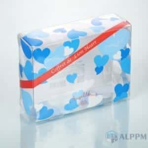 Cosmetic PET box | high-end rectangular packing box factory