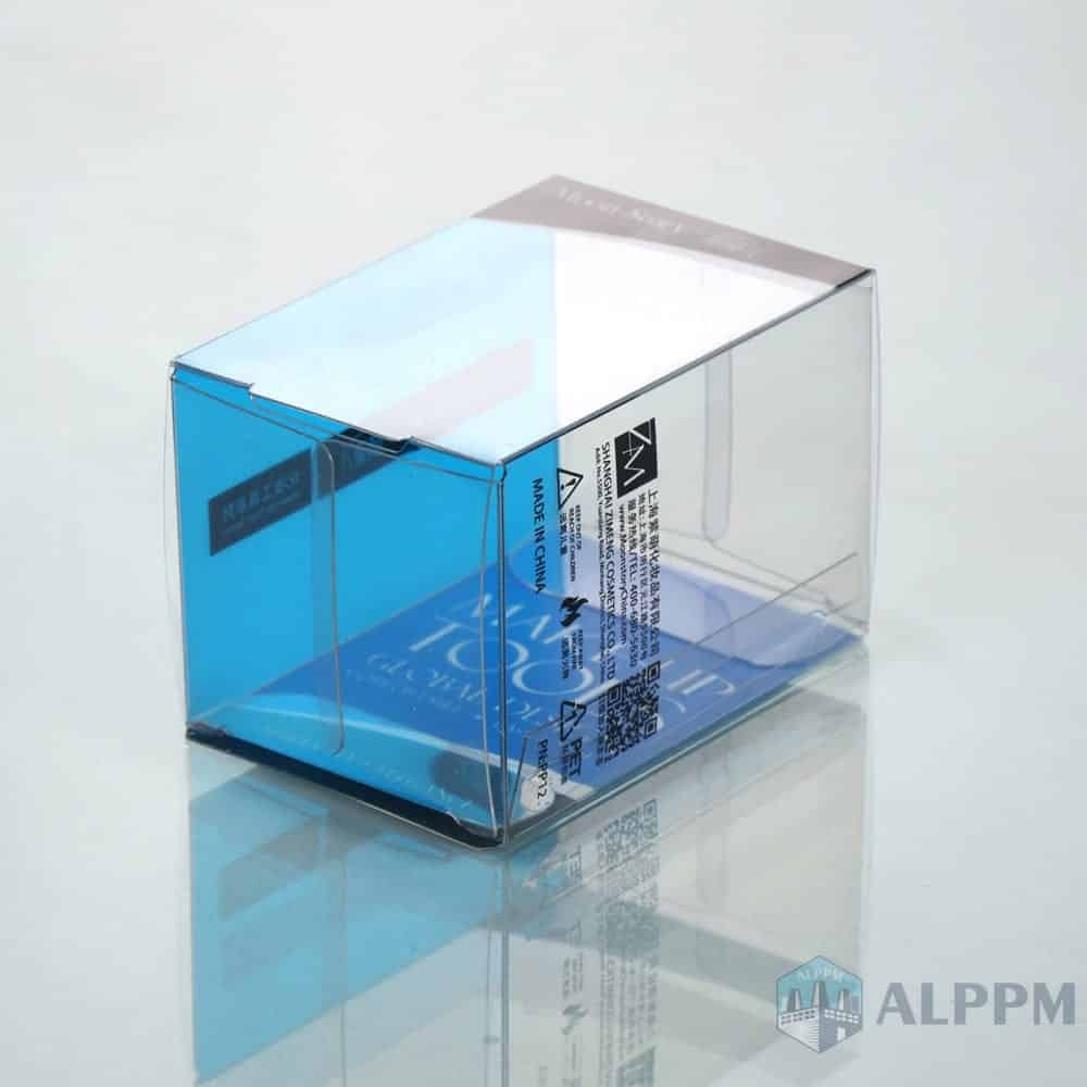 On-Demand retail PP/PVC/PET Clear Packing Box for Cosmetic Packaging