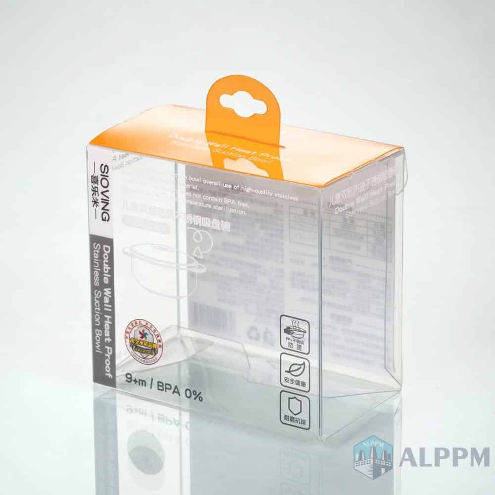Thomas&Friends custom Retail PP/PVC/PET Storage Packaging Box for Baby Products Plastic Box