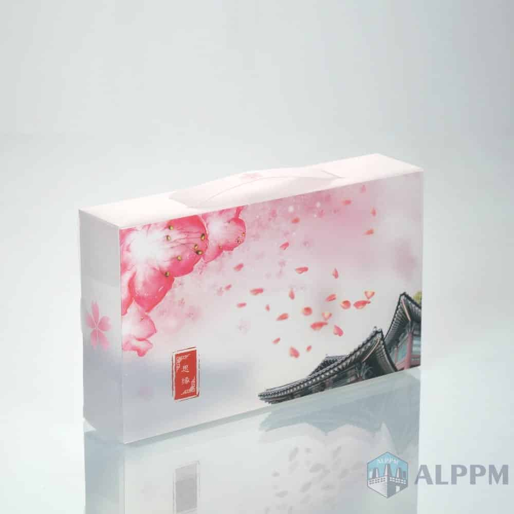 Best On-Demand Custom Clear PP/PET/PVC Clear Folding Box for Gift
