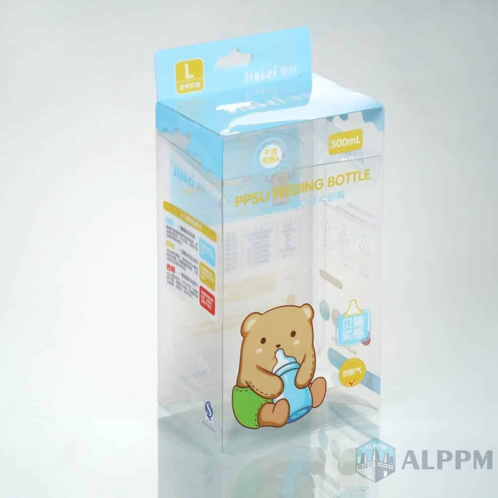 Top Quality Clear Retail OEM PP/PVC/PET Junction Packing Box for Baby Products