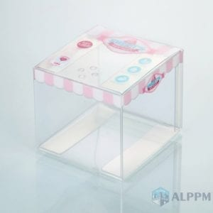 PVC Packaging Box for Living Products (Accept Customer's Logo)