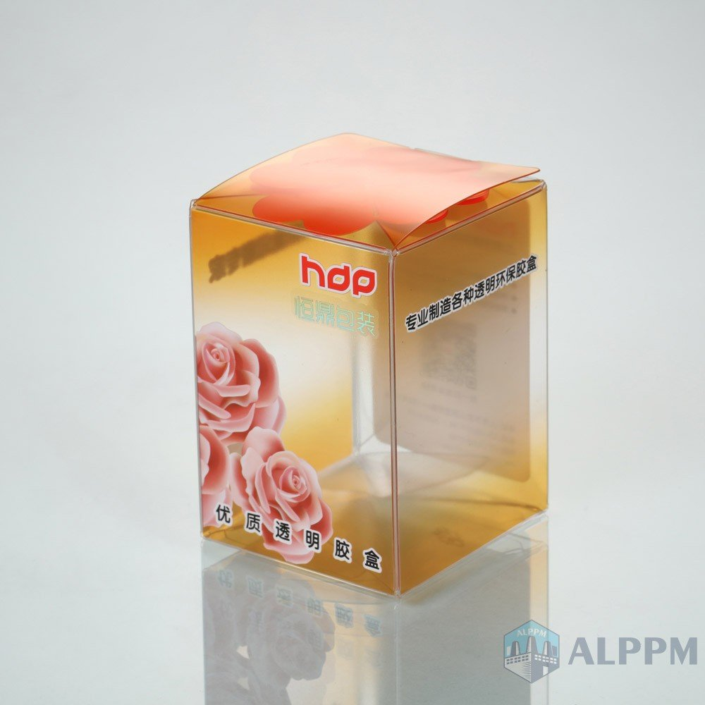 Best Transparent Foldable Clear Custom PP/PET/PVC Plastic Box for Gift