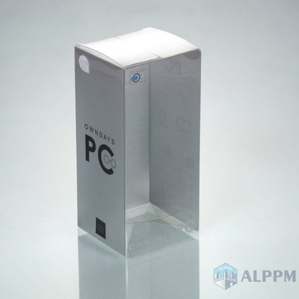 PVC Plastic Box for Electronic Products(From printing to packing)