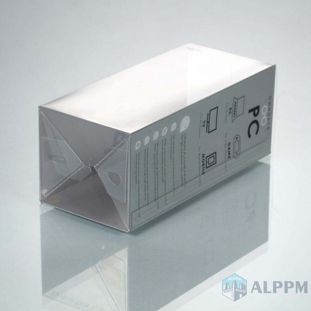 PVC Customized High Quality Clear Plastic Box for PCowndays Electronic Products packing
