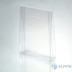 $0.05 Clear PET Plastic Packaging Box with Top Quality