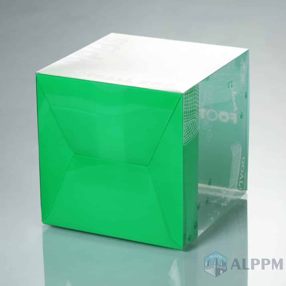 On-Demand Logo Printing PP/PET/PVC Plastic Packaging Containers for Living Products