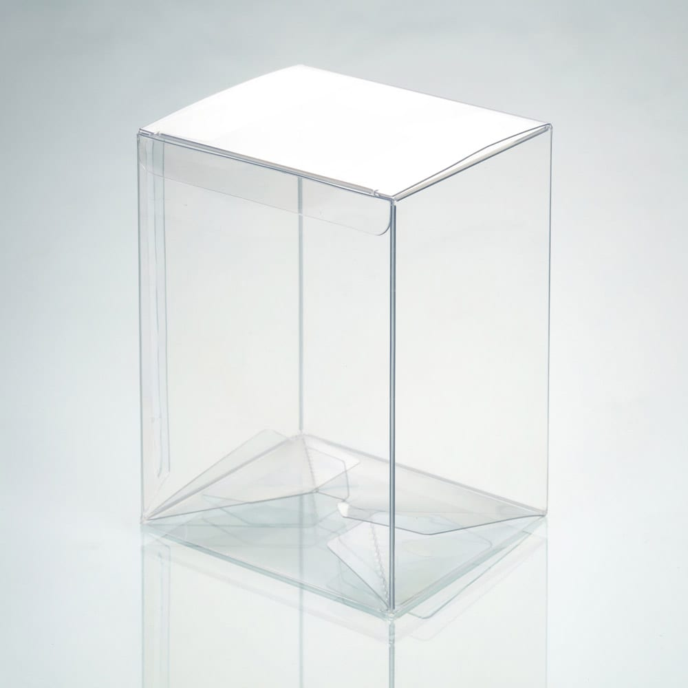 rectangle clear plastic box packaging