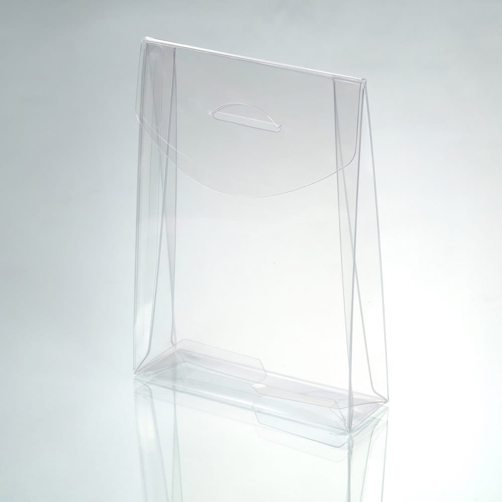 clear plastic box packaging