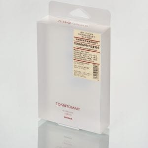 transparent plastic packaging box
