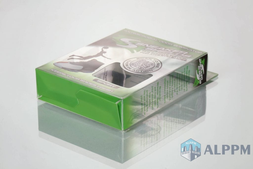 plastic apparel packaging box