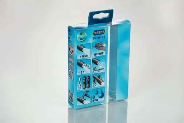 flashlight clear plastic packaging boxes