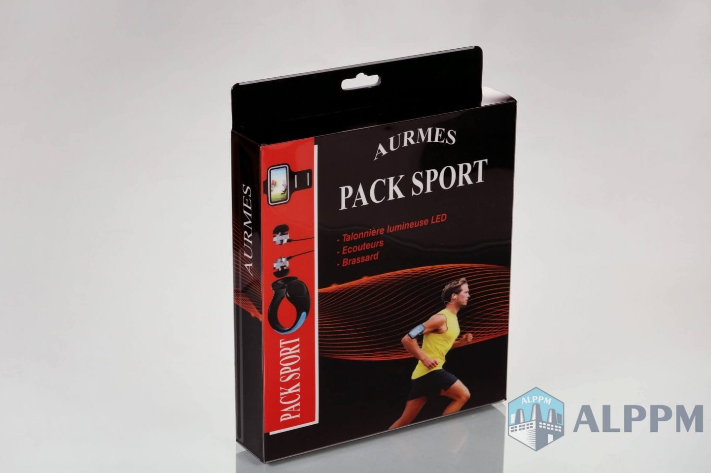Aurmes pack sports fitness clear packaging boxes