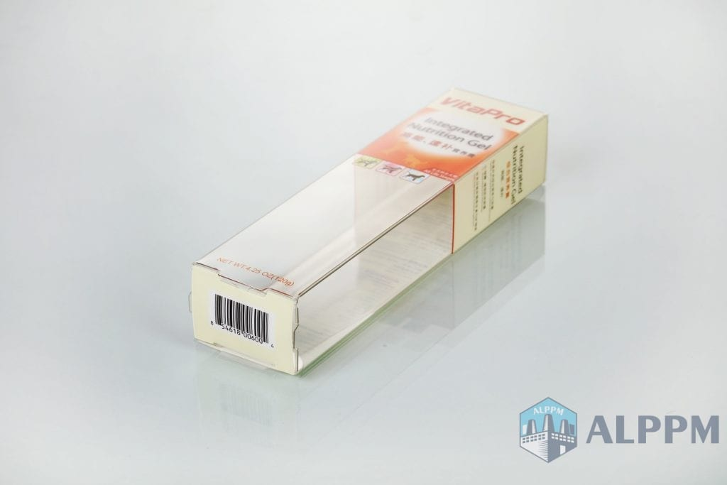 nutrition gel plastic packaging boxes