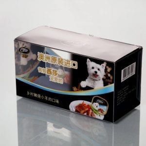 Pet cibum packaging plastic boxes