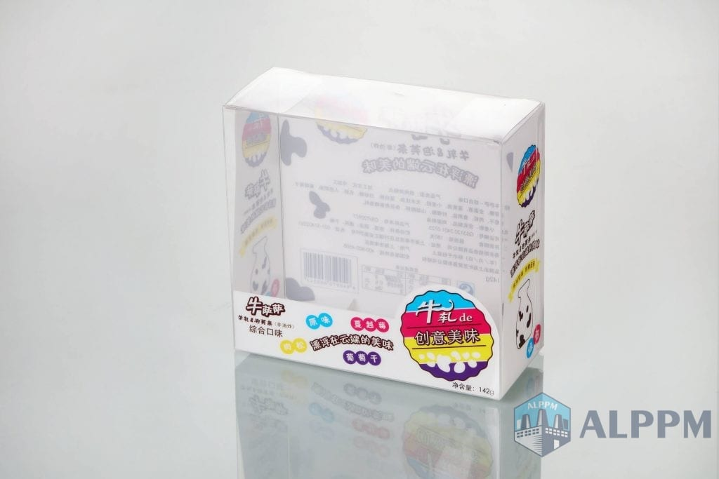 Snack plastic packaging boxes