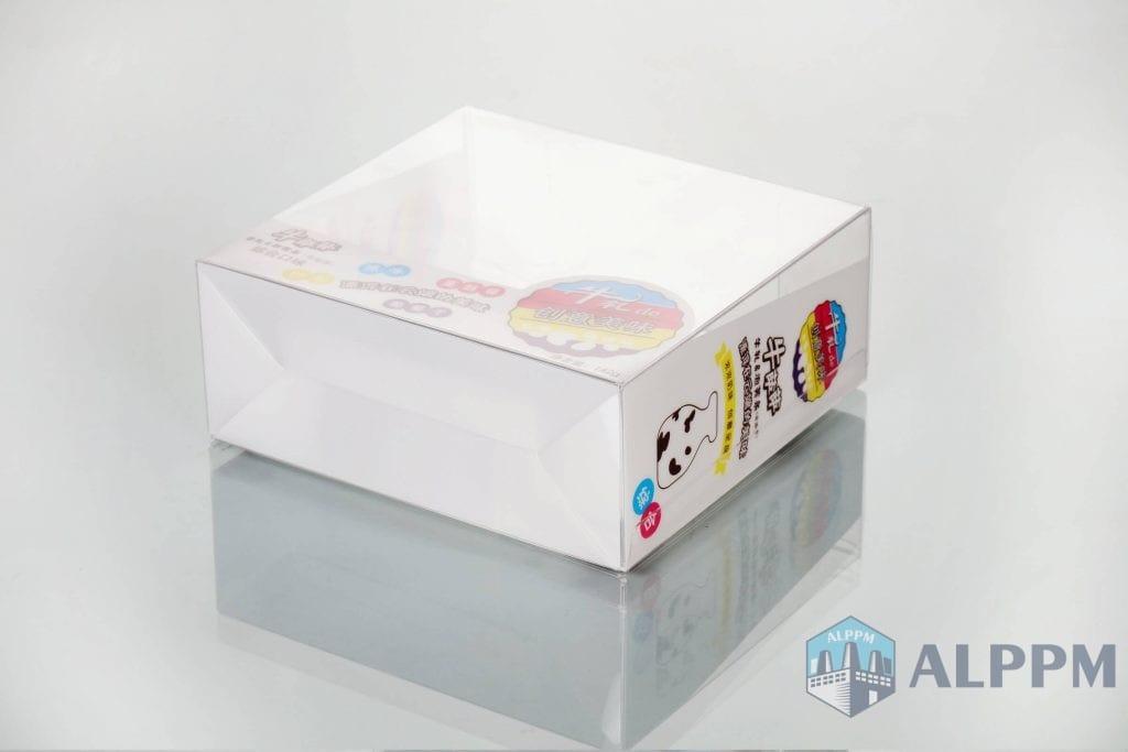 caixas de embalagem de plástico Lanche