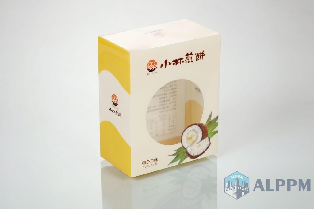 Biscuits plastic packaging boxes