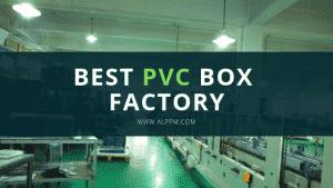 Plástico transparente Caja de PVC Proveedores y mayoristas de fábrica Fabricantes China