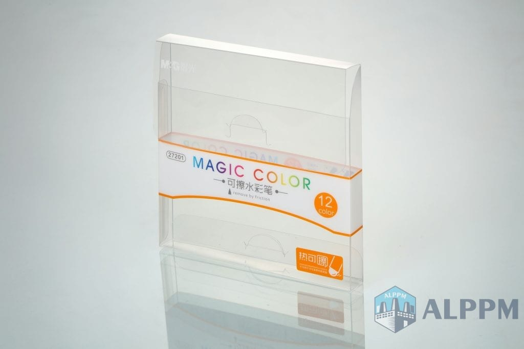 pen transparent packaging boxes