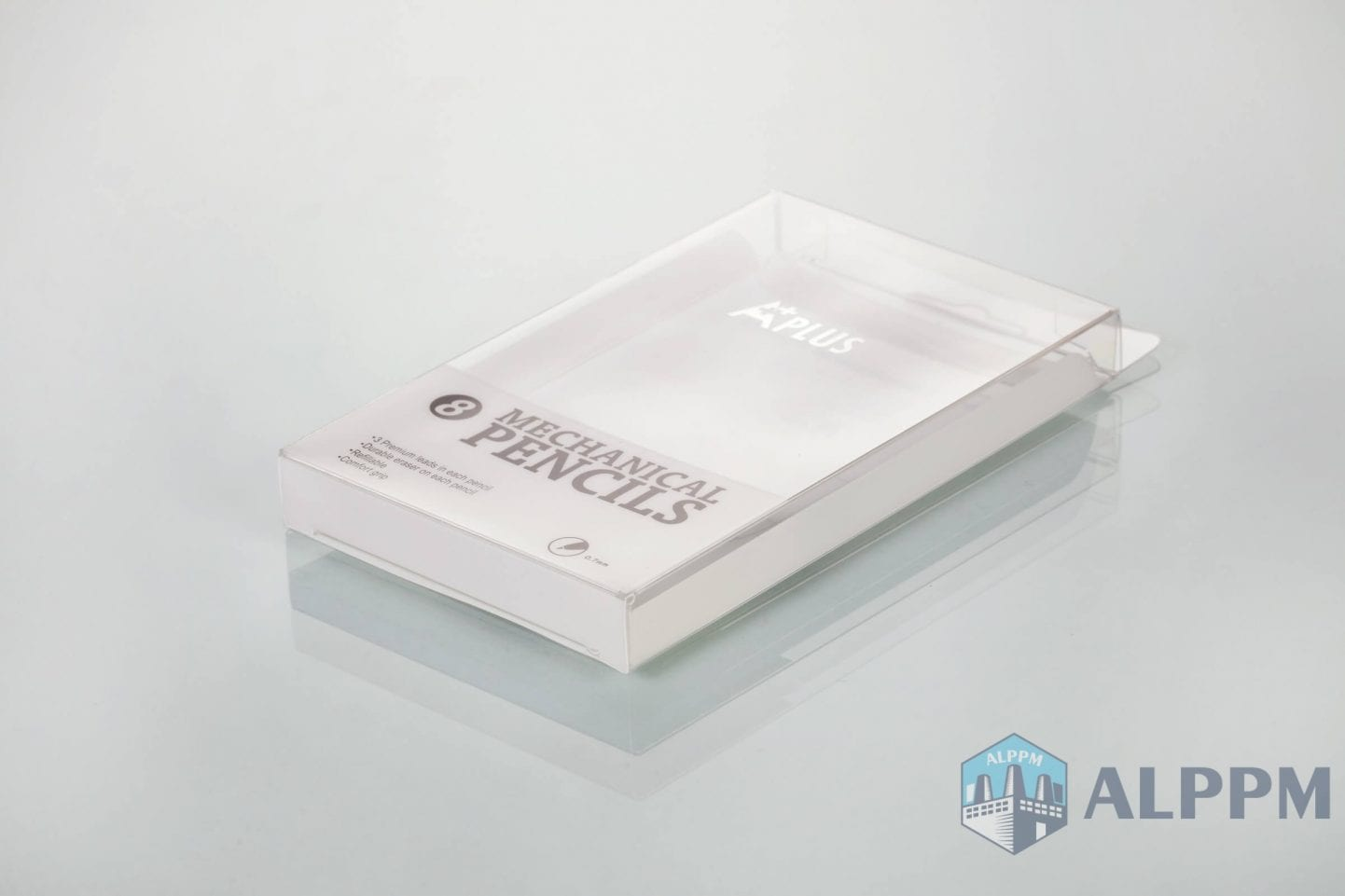 plastic stationery packaging boxes